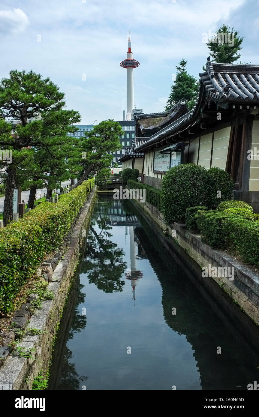 the-kyoto-tower-reflected-in-the-moat-ne