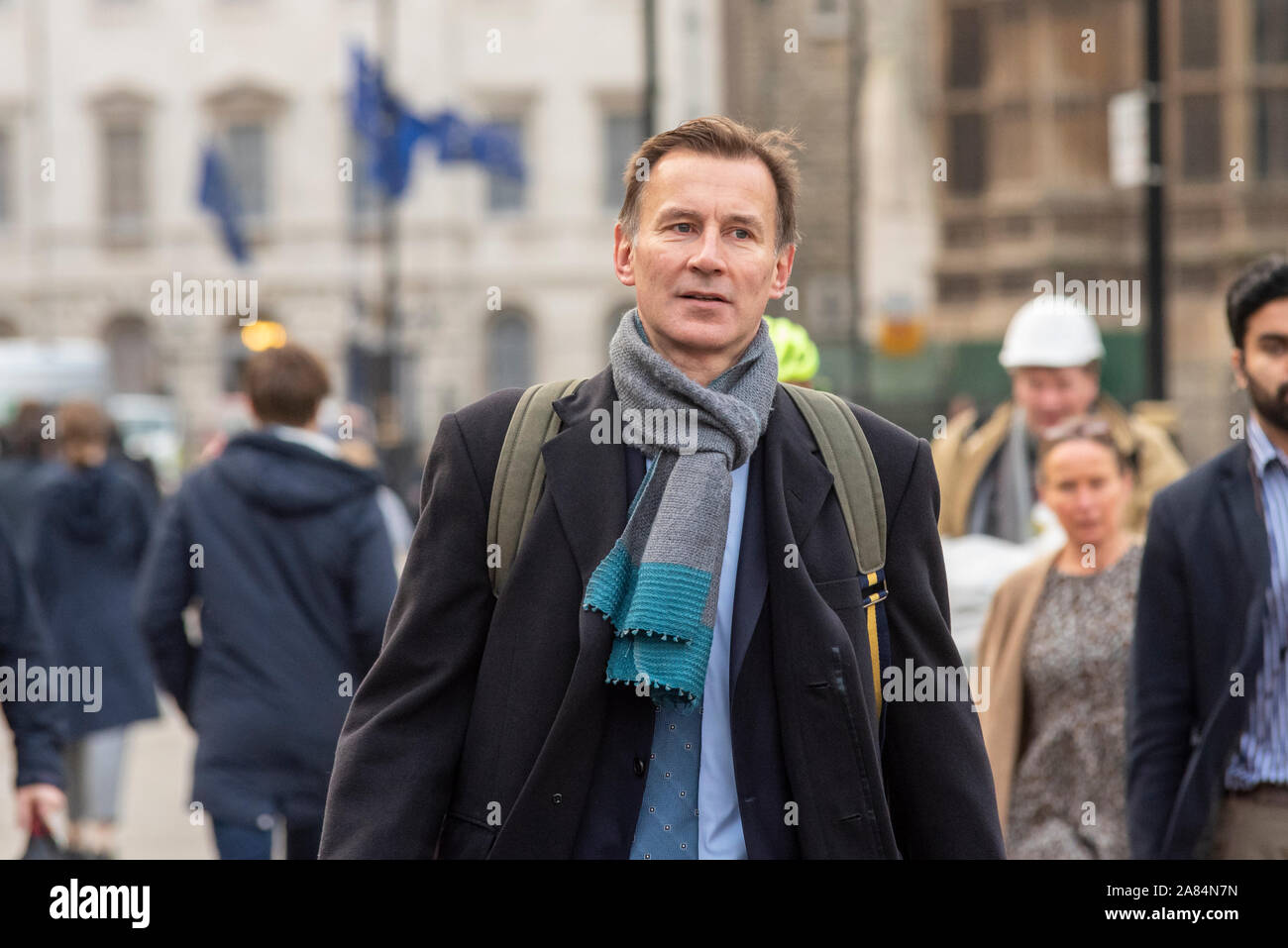 jeremy-hunt-mp-arriving-at-house-of-commons-for-their-last-day-of-debates-before-parliament-is-dissolved-in-preparation-for-the-2019-general-election-2A84N7N.jpg