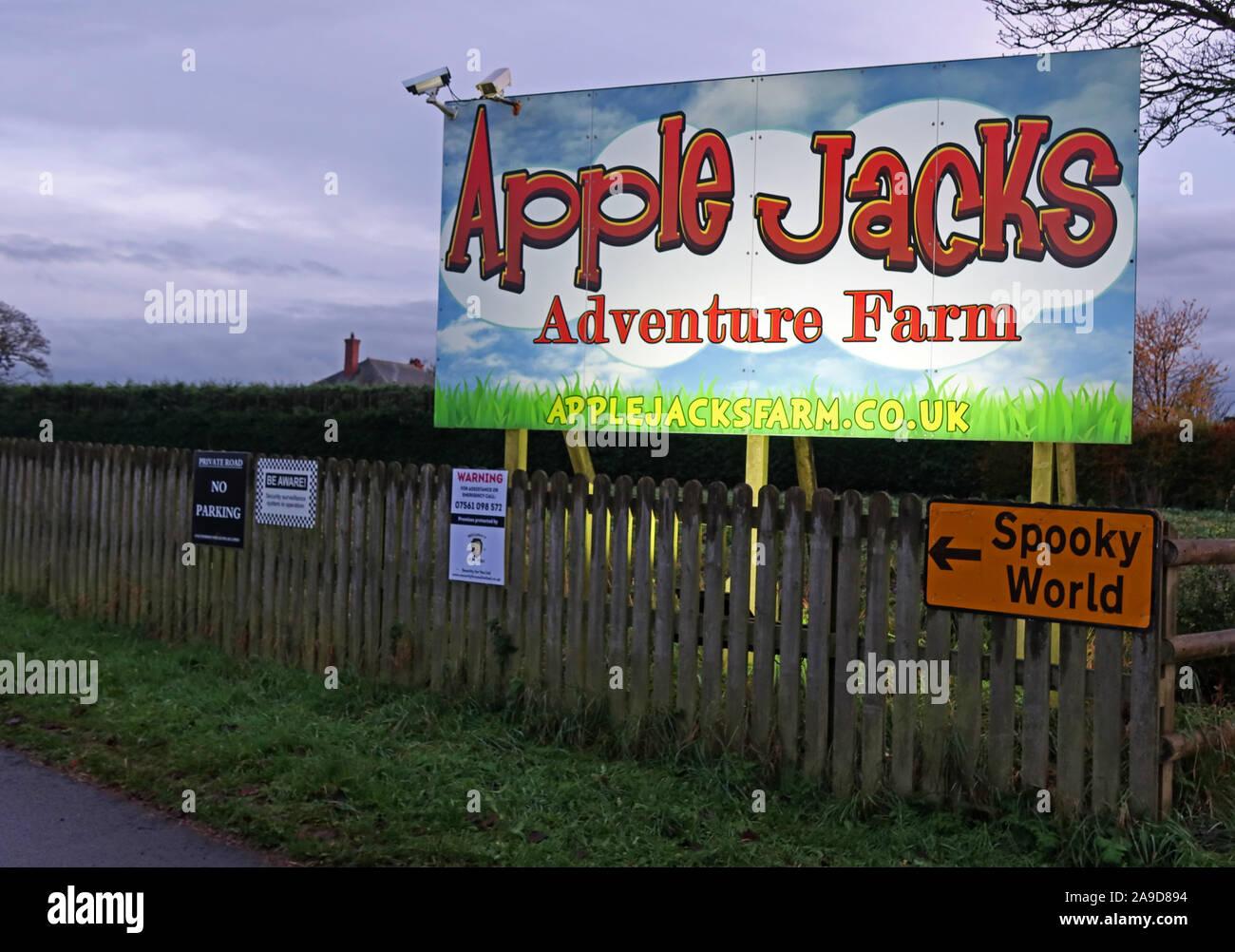 @HotpixUK,HotpixUK,GoTonySmith,Blue Hour,Village,night,nighttime,night time,England,UK,North West England,WA4 4NW,farmers,diversifying,NFU,Adventure Farm,Spooky World Apple Jacks Farm,Tourist Attraction,Stretton Road,sign,kids day out,Apple Jacks Adventure Farm,The More the Merrier,tickets,play areas,heating,Jacks ball blast,Farm Fun Ltd,Apple Jacks Adventure Farm sign,maze,mazes,Cheshire Tourist Attractions