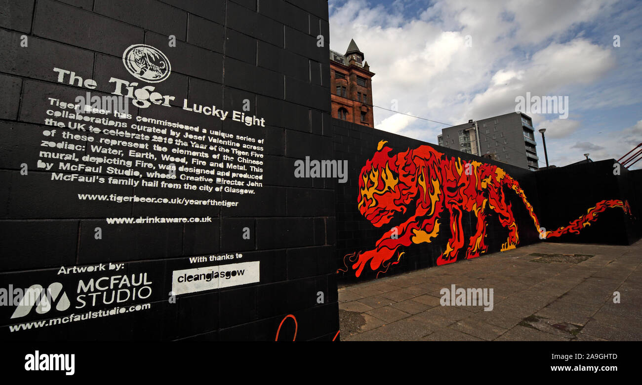 HotpixUK,@HotpixUK,GoTonySmith,UK,tiger,art work,Clyde,river,2010,April 2010,art,cleanGlasgow,Chinese Year of the Tiger,curated by Josef Valentine,curated by,Josef Valentine,South Portland Street suspension bridge,art projects,Glasgow Art projects,city centre