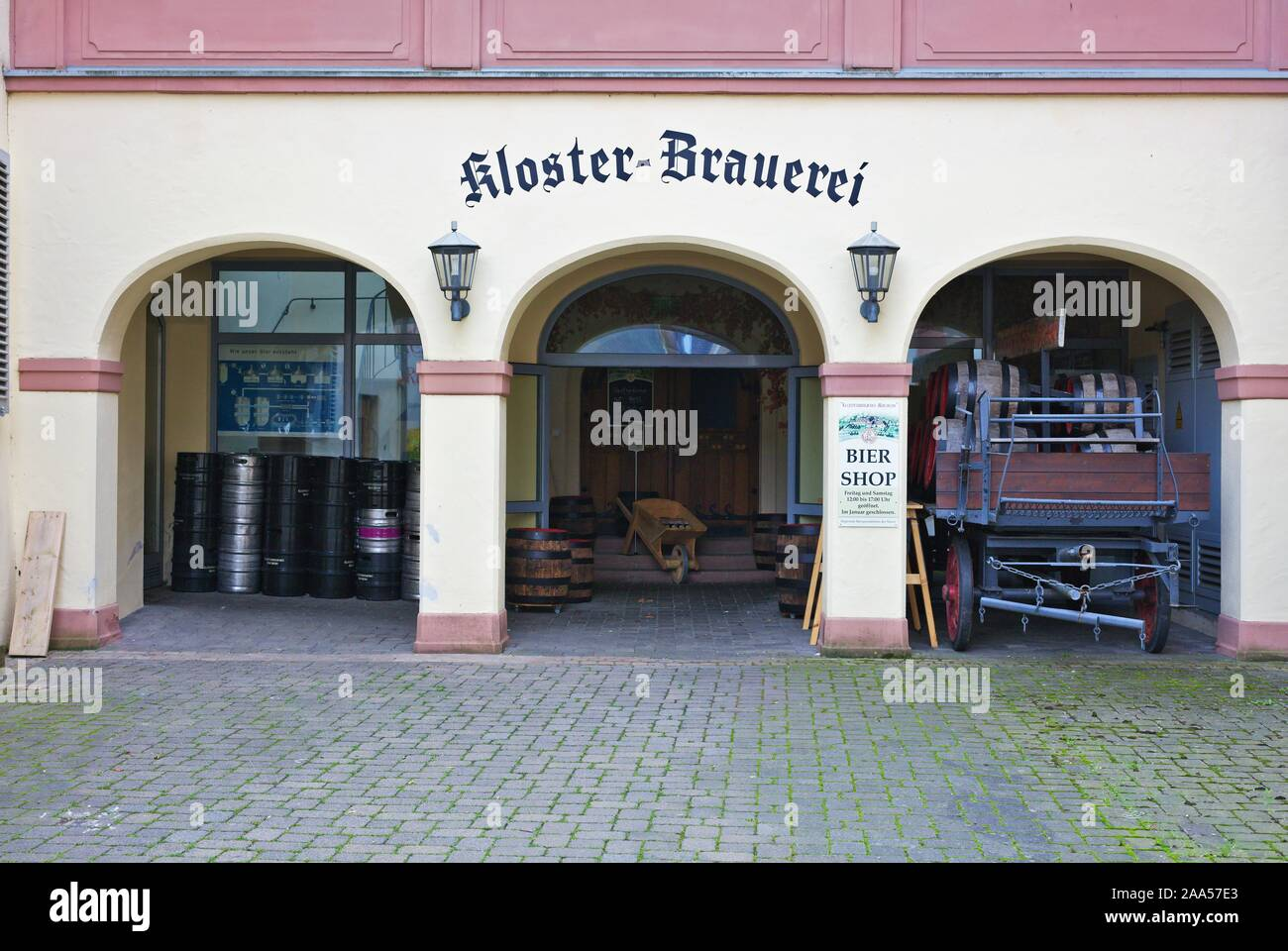 Cloister Machern, Germany, Rhineland Palatinate Stock Photo