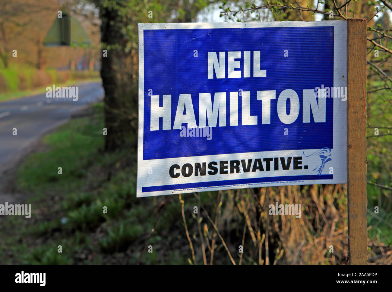 North West England,UK,UKIP,HotpixUK,@HotpixUK,GoTonySmith,Neil Hamilton,Vote,Conservative sign,Conservatives,Tory,liar,Election,Cheshire,North West,England,Tatton,ward,Tories,Cash For Questions,National Assembly for Wales,affair,sleaze,politician,Mohamed Al-Fayed,owner of Harrods,corruption,corrupt,1994,A Liar and a Cheat,parliamentary enquiry,Downey report,tobacco promotion,Skoal Bandits,legal action for libel,libel,legal action,placard,poll