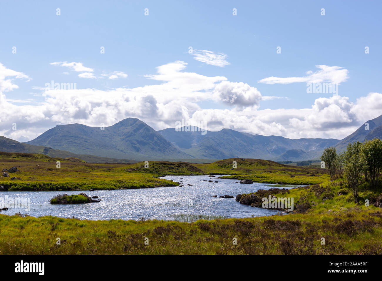 Loch Ba Viewpoint, Rannoch Moor, Highland, Scotland, UK Stock Photo