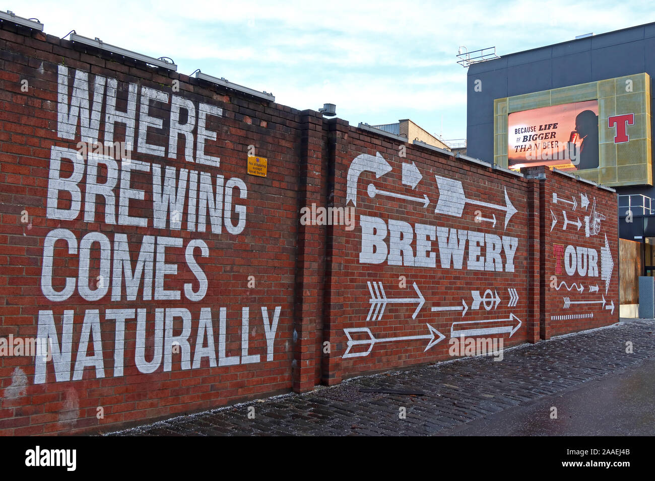 GotonySmith,UK,city,city centre,HotpixUK,@HotpixUK,beverage,beer,G31 1JD,G31,Duke Street,Duke St,of Scottish lager,of lager,painting,Glasgow East End,lager,Scottish Lager,painting artwork Glasgow East End,wall,Wellpark Tennents,Brewery,tour,brewery tour,lager brewery,C&C Group