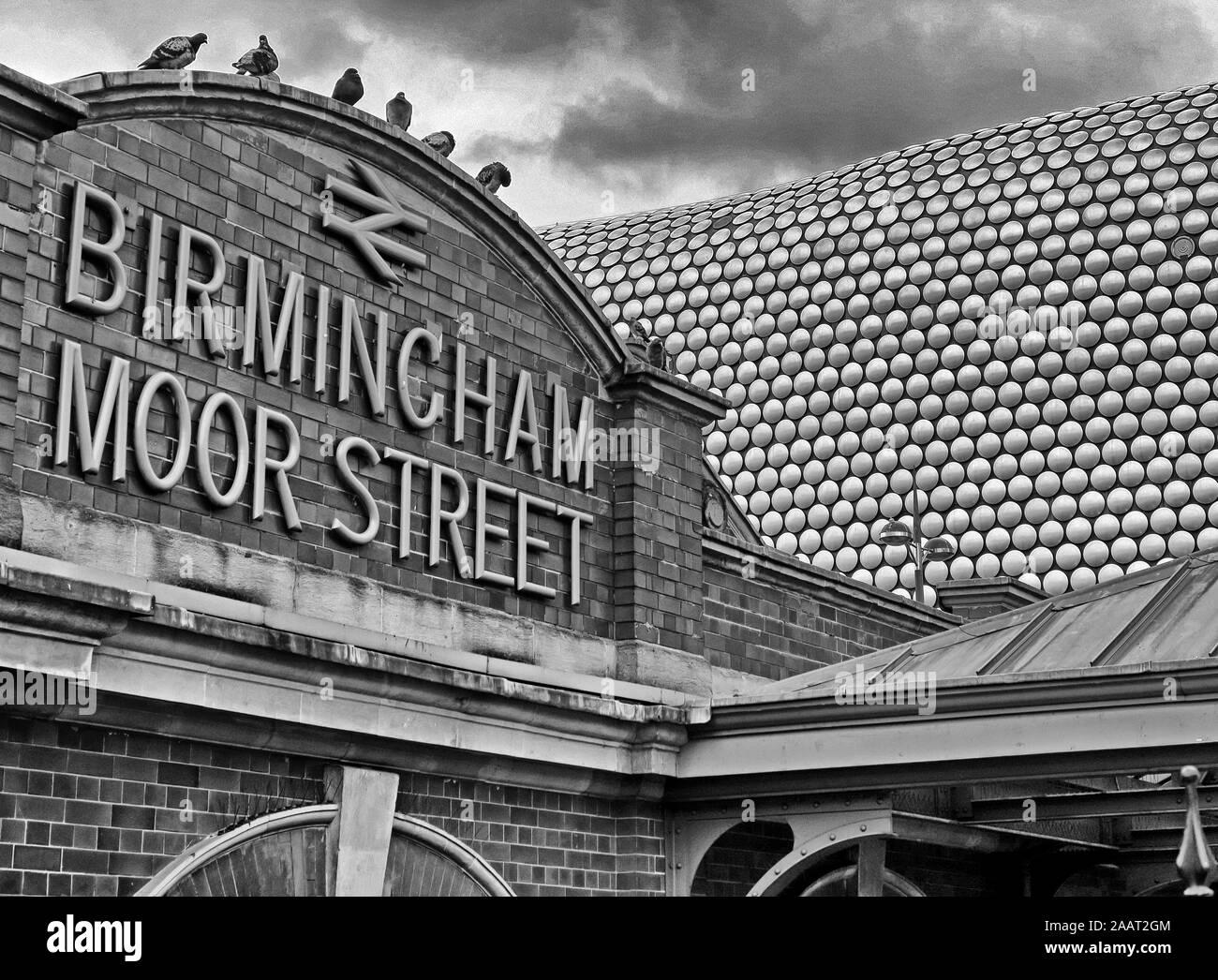 HotpixUk,@HotpixUK,GoTonySmith,UK,England,English,BMO,GWR,City Centre,West Midlands,Historic,transport,architecture,shopping,area,Bull Ring,Selfridges,retail,modern,BW,Black and White,black,white