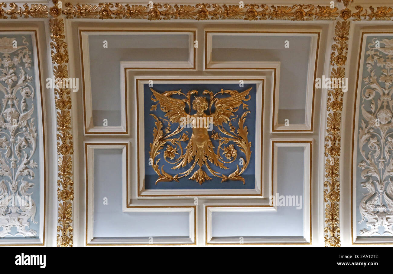 HotpixUk,@HotpixUK,GoTonySmith,UK,England,English,decoration,design,gold,blue,Scotland,G2 1AL,Romanesque scroll frieze