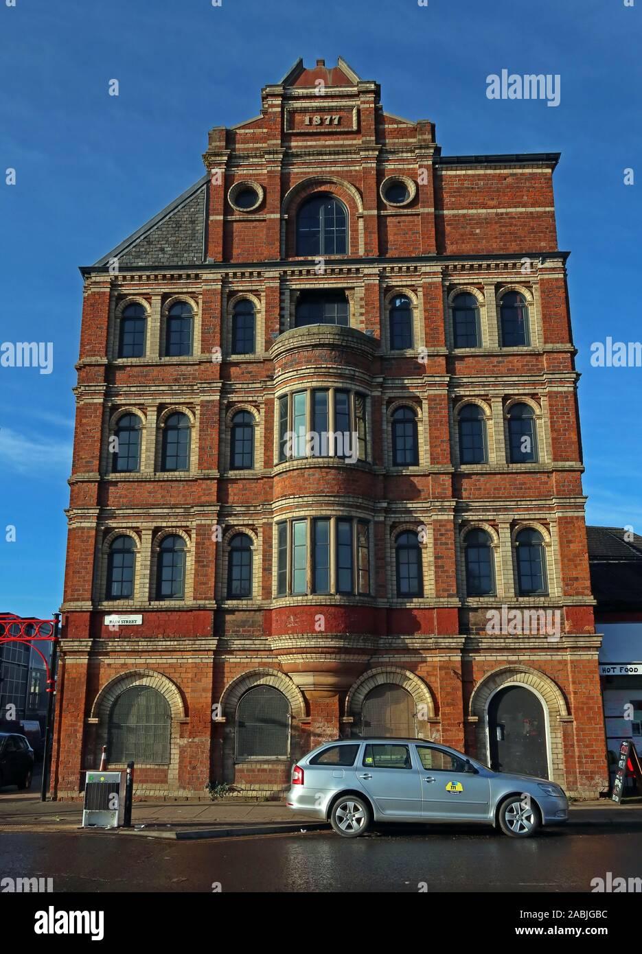 @HotpixUK,HotpixUK,GoTonySmith,UK,Glasgow,Scotland,City Centre,Strathclyde,The Barras,Markets,Gallowgate,G1,G1 5DX,Calton,brick,five story,building,1877