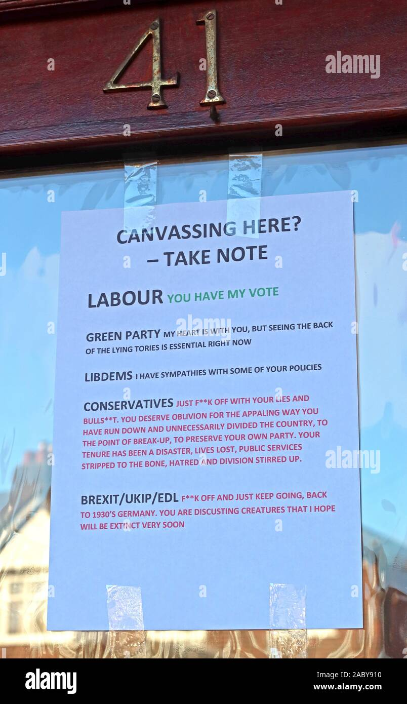 GoTonySmith,HotpixUK,@HotpixUK,England,English,London,South East,Labour,Green,Conservative,Brexit Party,LD,Tory,LibDem,Liberal Democrat,party,A4 sheet,A4 Printed note,printed note,on door,how to vote,general election,urban,voter,41,front door,voting,intentions,You have my vote,Tories,candidate,doorstep,door step,Canvassing here,winning here,UKIP,EDL,BNP,lies,lying