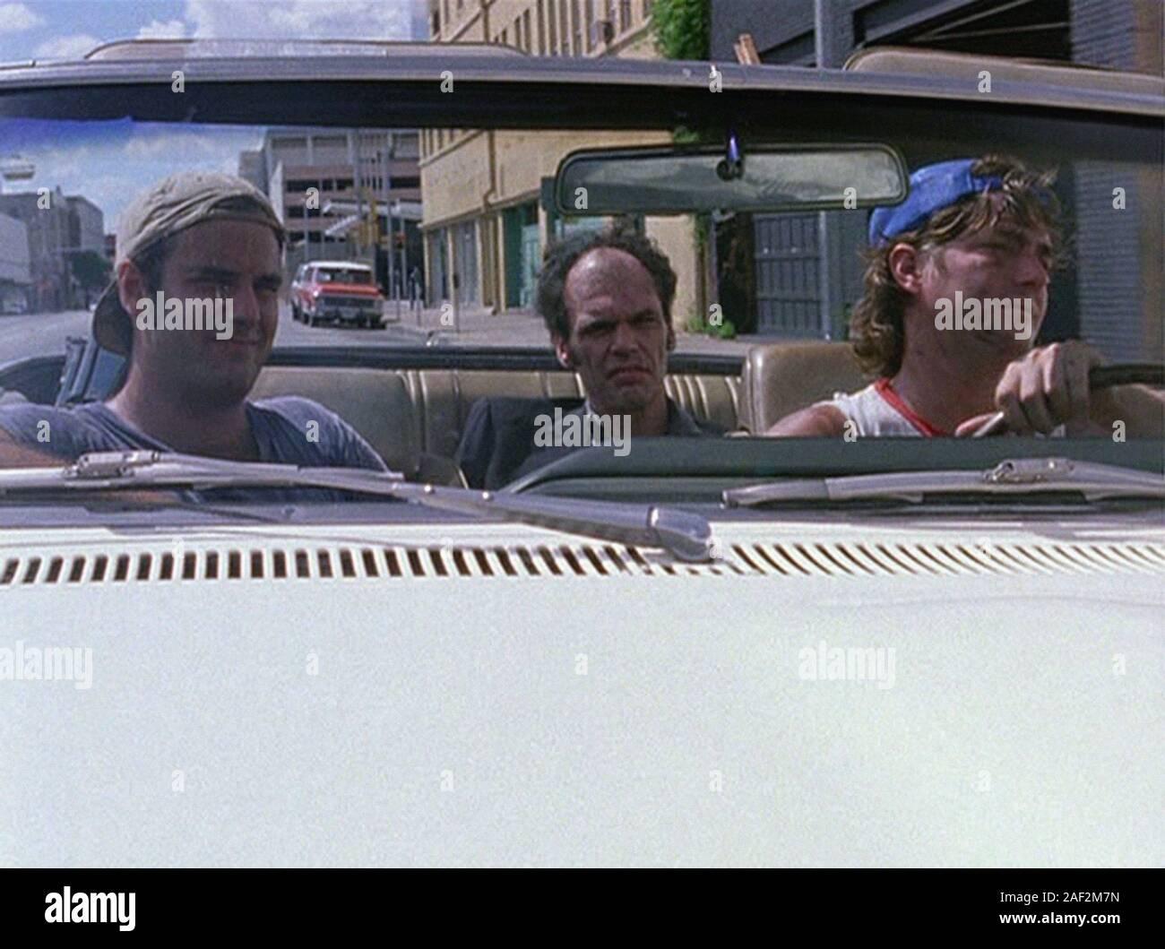 SLACKER 1991 de Richard Linklater Charles Gunning. film independant; independent cinema Prod DB © Detour Filmproduction Stock Photo