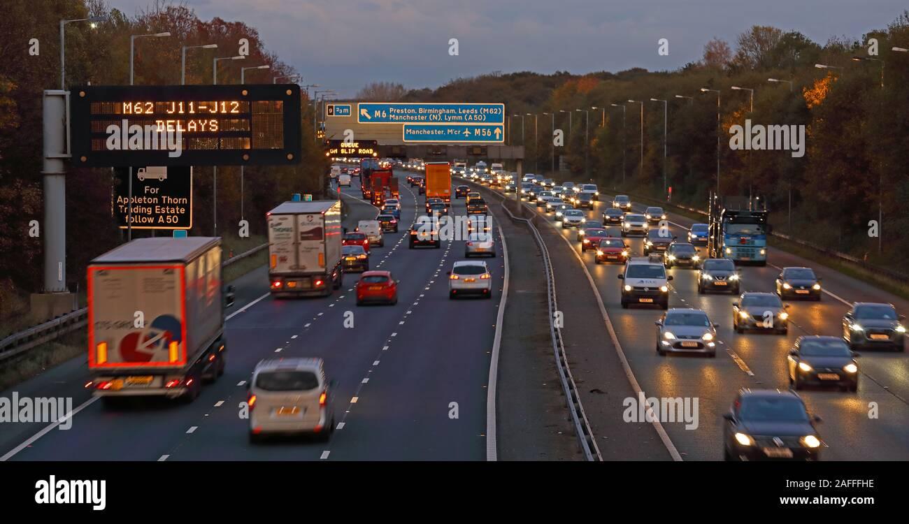 @HotpixUK,HotpixUK,GoTonySmith,@HotpixUk,M56,M62 delays J11-J12 Delays,England,UK,signs,sign,Lymm,Thorn,North West,evening,M62,cars,travel,transport,trucks,logistics,delay,delays