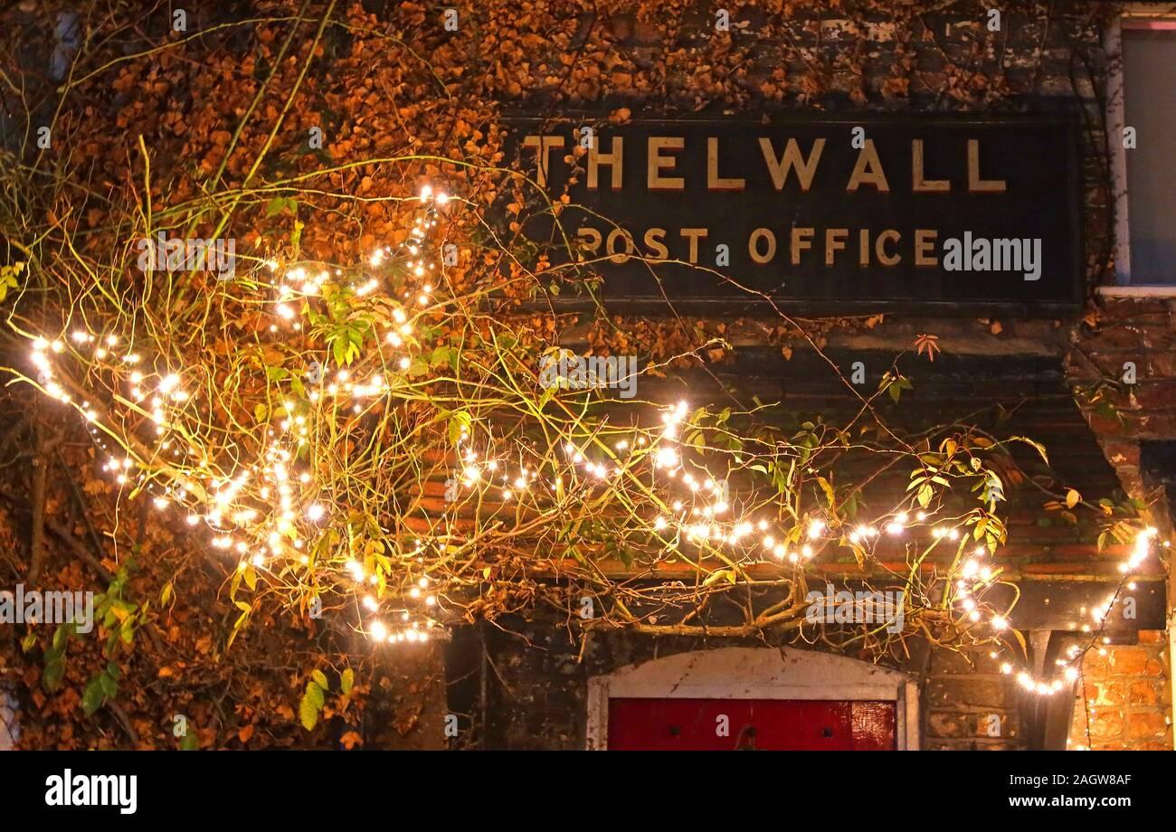 hotpixUk,@HotpixUK,GoTonySmith,Grappenhall,Warrington,South Warrington,WA4,Cheshire,England,UK,post office,Old Post office,dusk,night,Xmas,Christmas,Warrington Villages,at Xmas,lights,decorated with Xmas lights,decorated,Xmas lights,Thelwall city,lighting,festive,Thelwall village