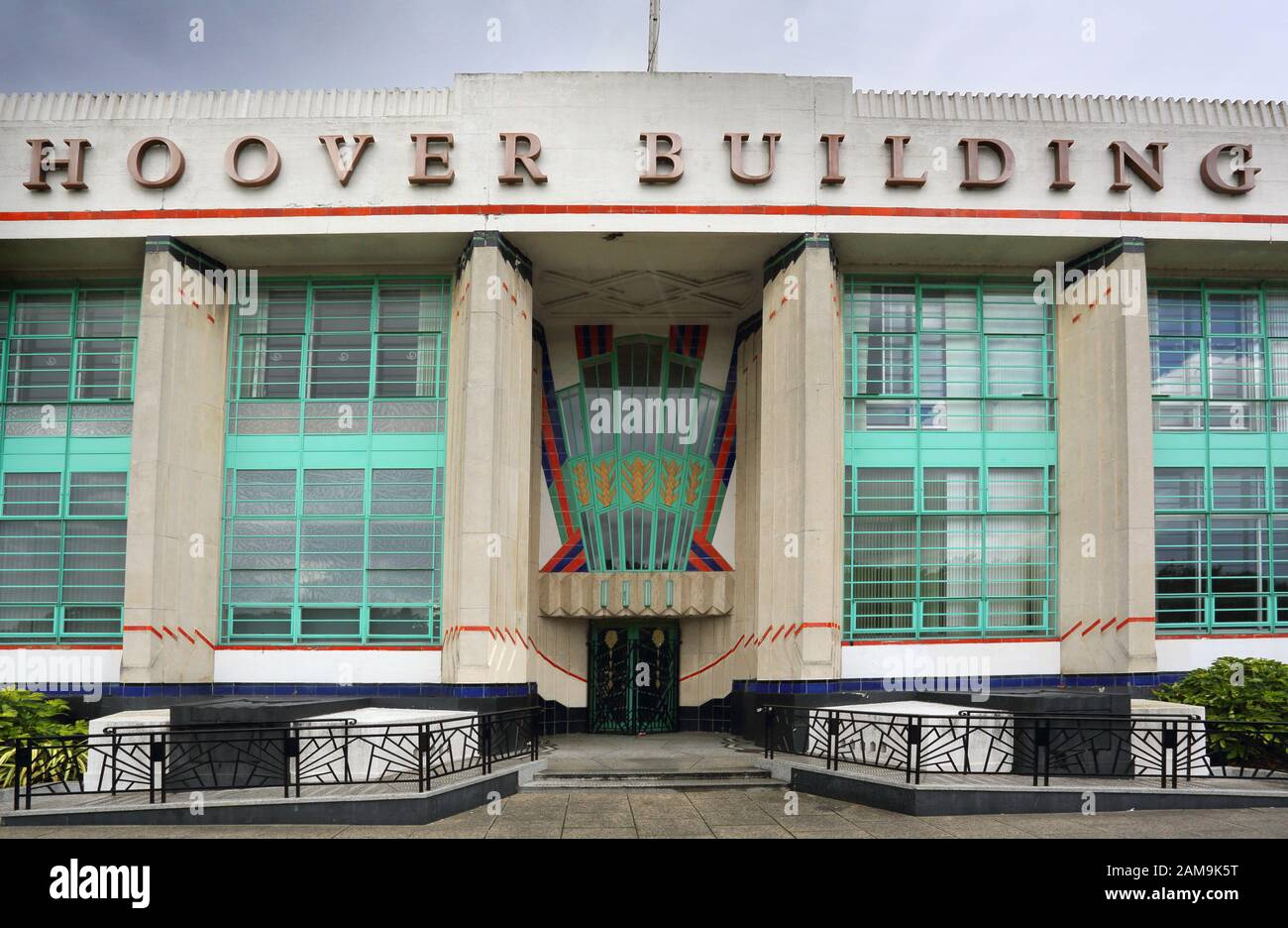 the art deco hoover building in north london Stock Photo