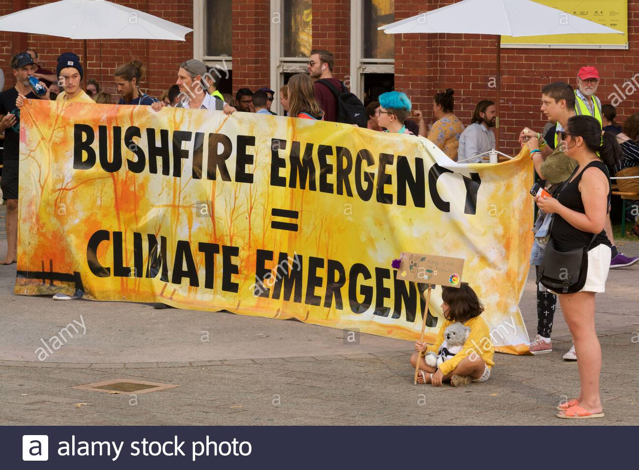 a-community-vigil-in-response-to-the-bushfire-crisis-organised-by-school-strike-4-climate-extinction-rebellion-at-perth-cultural-centre-wa-2ANJMKD.jpg