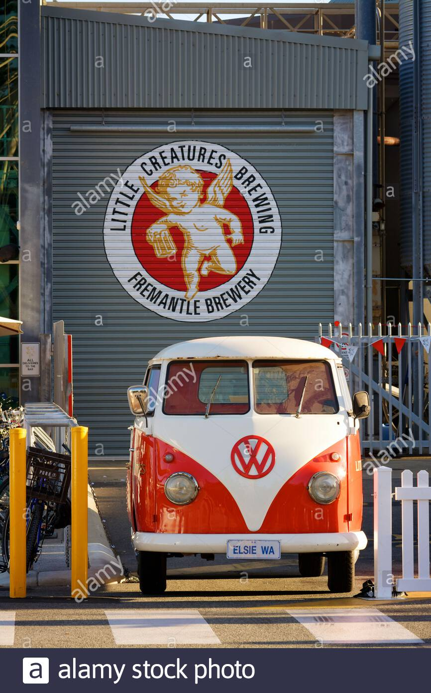 little-creatures-brewery-in-fremantle-western-australia-with-their-volkswagen-named-elsie-parked-out-the-front-2AP4RE6.jpg
