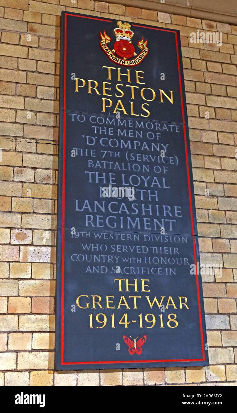 GoTonySmith,HotpixUK,@HotpixUK,railway station,Preston,Lancashire,England,UK,PR1 5AB,lancs,commemoration,soldiers,Lancs regiment,Great War,1914-1918 plaque,Great War 1914-1918 plaque,WWI,WW1,World war One,teenagers,teenage soldiers,sacrifice,gave their lives,army,volunteers,Battle of the Somme,Somme,Battle of Loos,Memorial to the Preston Pals,platform 3,platform 4,platforms 3 & 4,Andrew Mather,honour,the men,August 1914