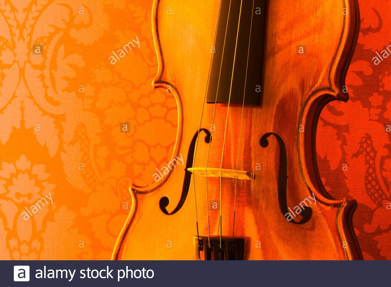close-up-of-the-body-of-a-violin-in-hues-of-orange-and-red-against-a-wallpaper-background-2AT7665.jpg