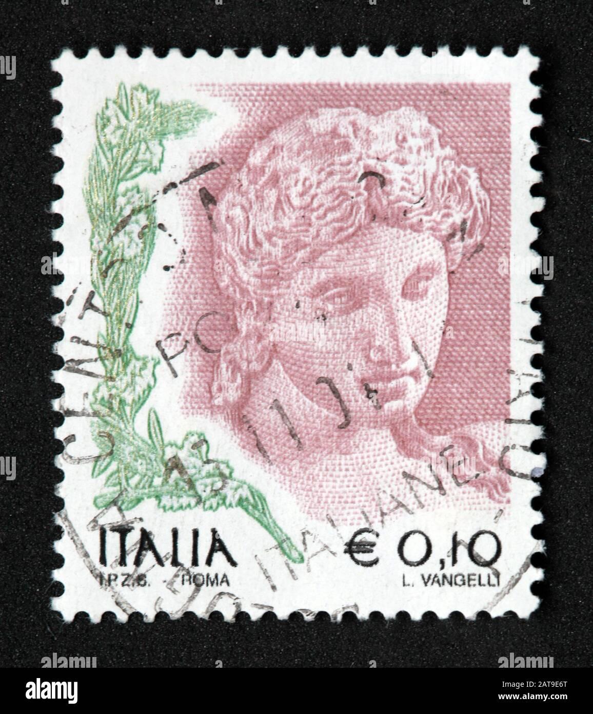 Hotpixuk,@Hotpixuk,GoTonySmith,stamp,postal,franked,frank,used stamps,used franked,used,franked stamp,from envelope,history,historic,old,Italy,Italian,Italia,Italy Stamp,italian stamp,franked Italian stamp,used Italian stamp,Italy stamp,italia E0.10,L Vangelli,10c,10 Cent,woman,female
