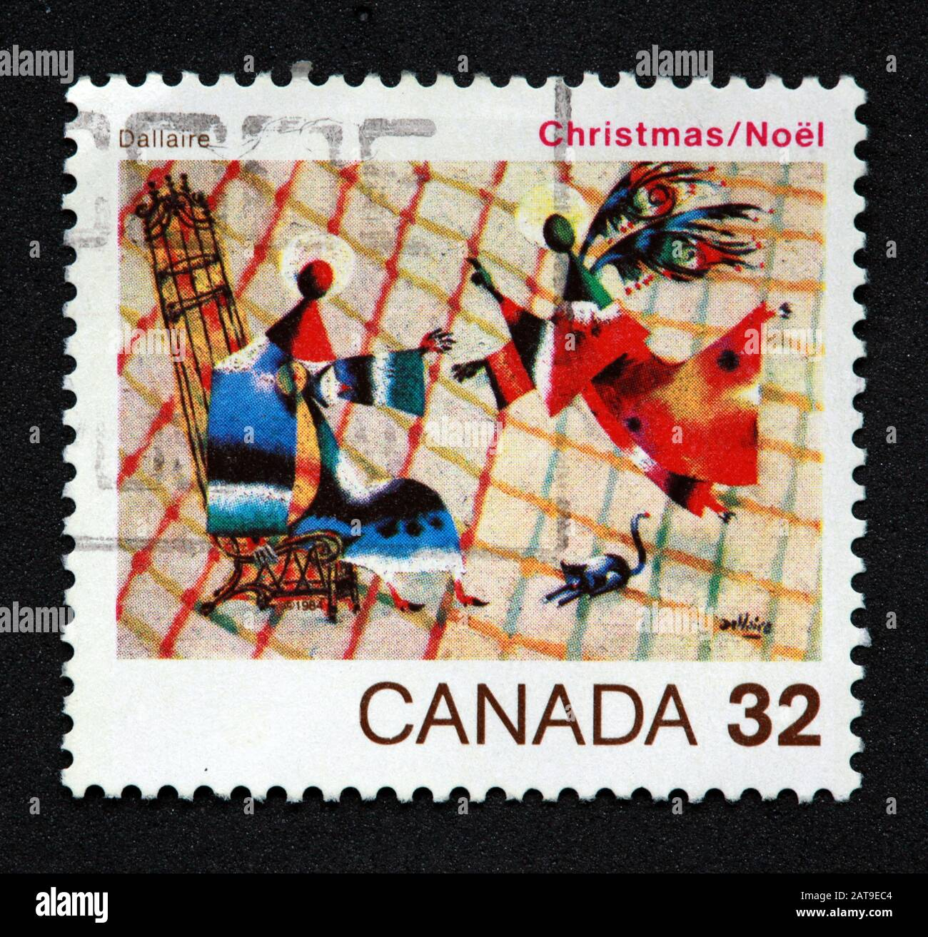 Hotpixuk,@Hotpixuk,GoTonySmith,stamp,postal,franked,frank,used stamps,used franked,used,franked stamp,from envelope,history,historic,old,poste,post office,communications,postage,sending letters,sending,parcels,32c,32cent,Christmas,Noel,Dallaire,angels,Canadian
