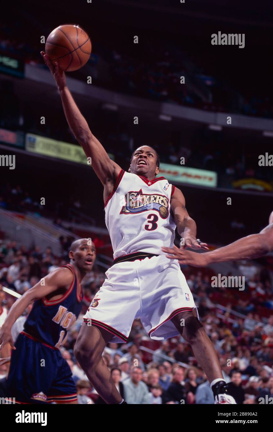 Allen Iverson of the Philadelphia 76ers Stock Photo