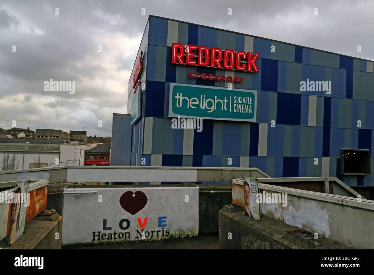 HotpixUK,@HotpixUk,GoTonySmith,Greater Manchester,Manchester,Cheshire,England,UK,town,ugly,SK1,Redrock,Unit 10,SK1 1SA,sign,leisure destination,leisure,destination,light cinema,blue,building,architecture,Redrock development,M60,entertainment complex,The Light Cinema,Britains ugliest building,Carbuncle Cup 2018,Carbuncle Cup,2018,bad architecture,BD,Building Design,ten-screen,complex,structure,shed,Thomas Lane