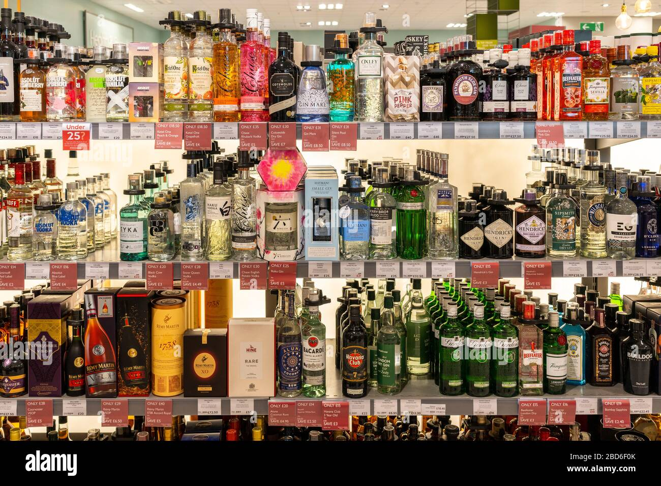 alcohol-spirits-and-liqueurs-on-display-