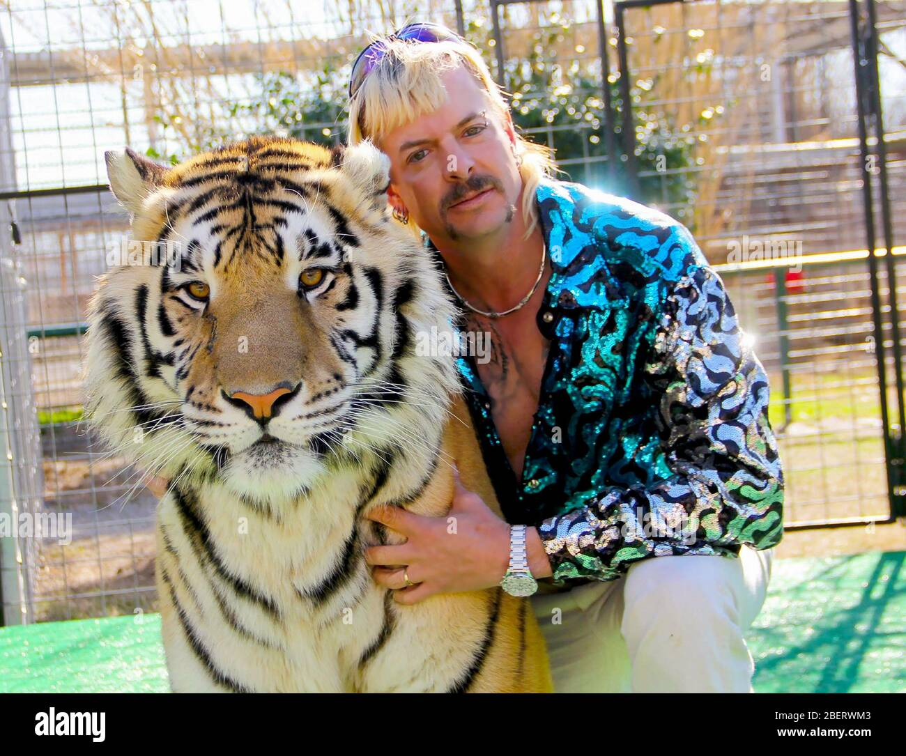 """Joe Exotic, """"Tiger King: Murder, Mayhem, and Madness"""" (2020)  Credit: Netflix / The Hollywood Archive Stock Photo"""