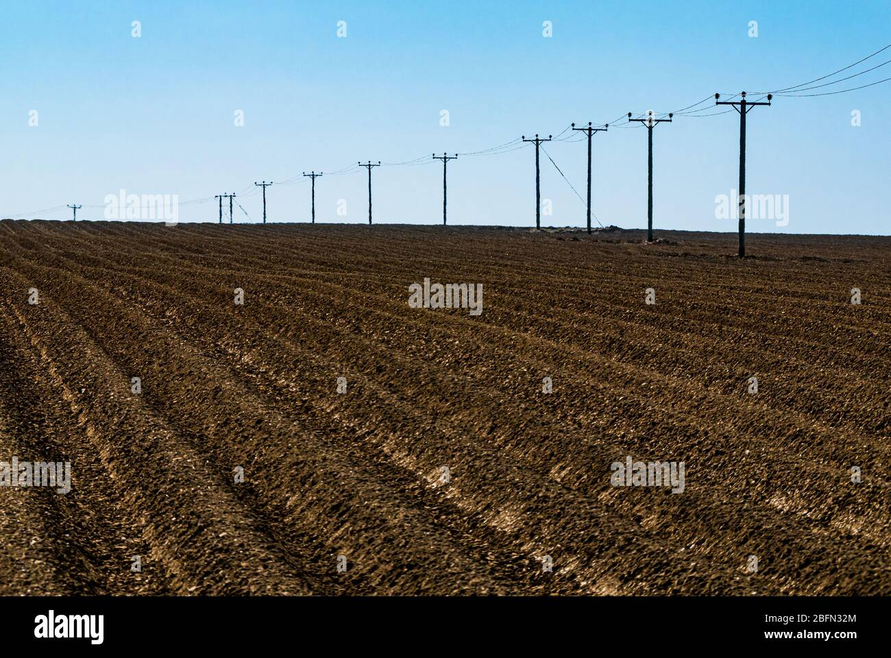 atmospheric-view-of-ploughed-field-with-