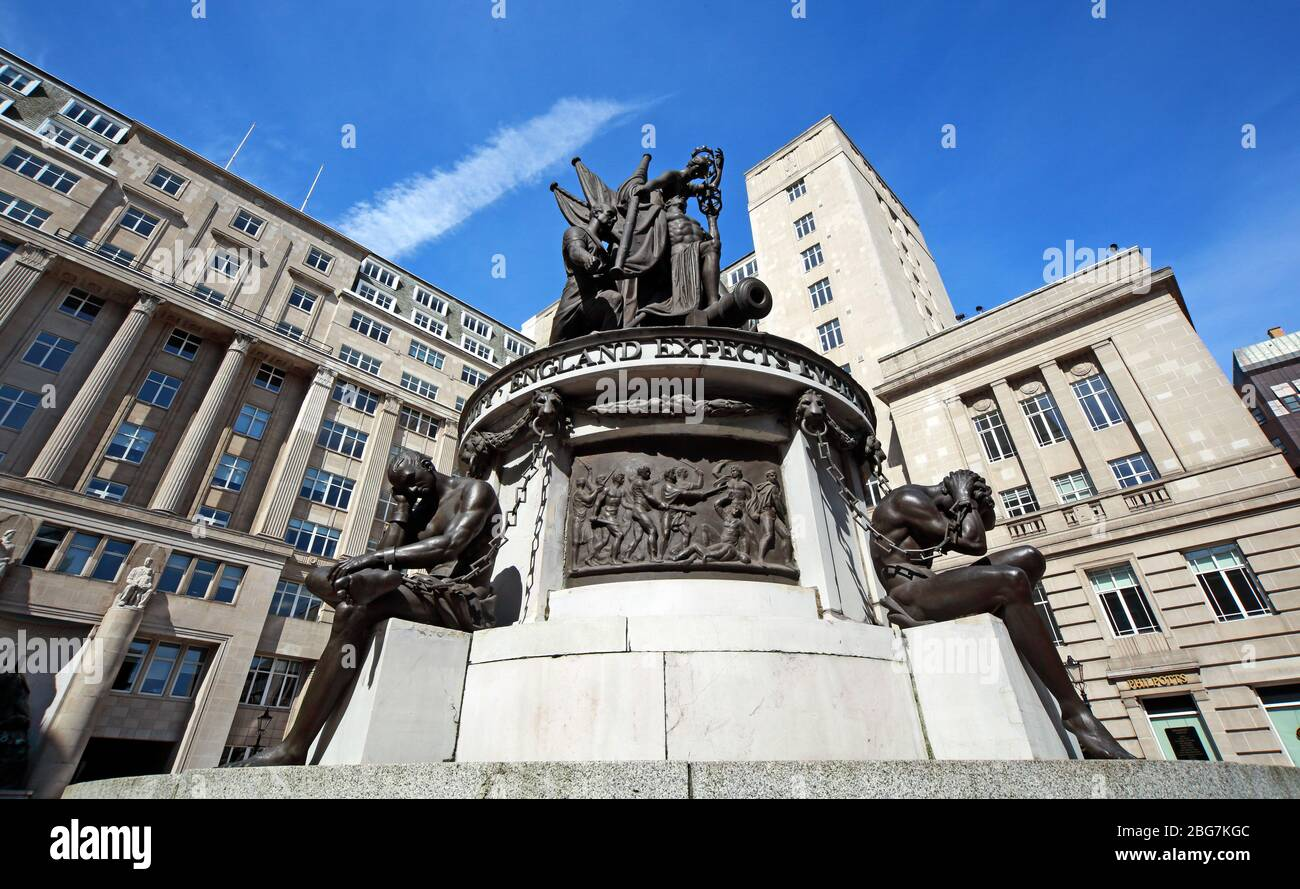 GoTonySmith,HotpixUK,@HotpixUK,Merseyside,North West England,England,City Centre,UK,Great Britain,L2 3YL,office space,statue,Western Approaches,Command,Headquarters,Gunton,sculptor,Richard Westmacott,Nelson Monument Liverpool,ENGLAND EXPECTS EVERY MAN TO DO HIS DUTY