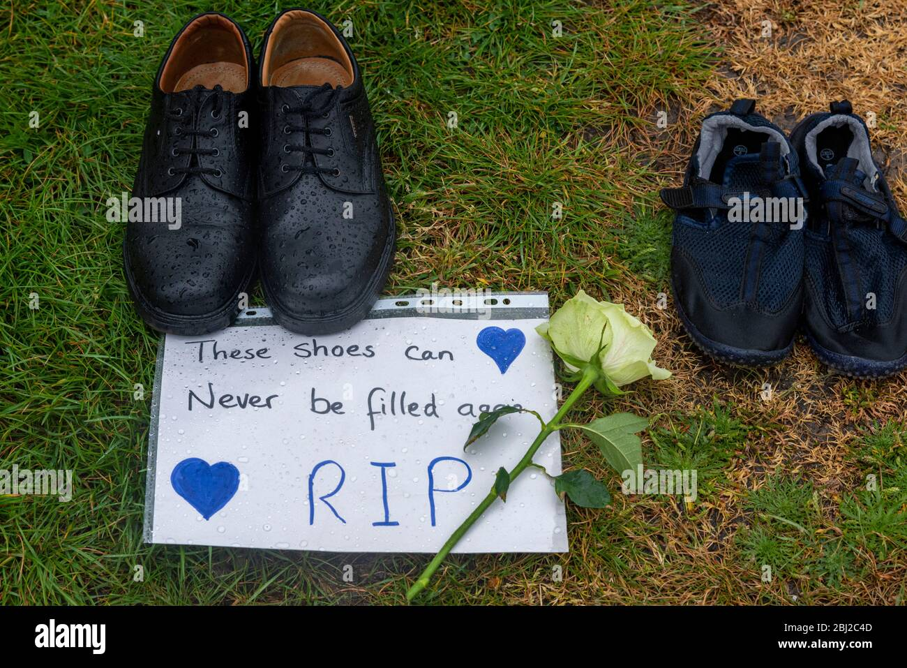 empty-shoes-illustrating-the-dead-at-southend-hospital-with-a-one-minutes-silence-to-remember-the-front-line-workers-that-have-died-from-covid-19-2BJ2C4D.jpg