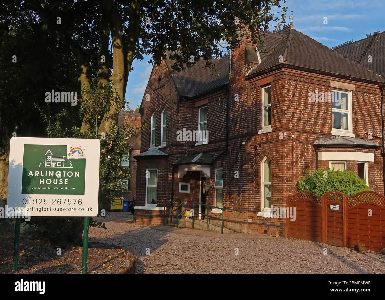 GoTonySmith,Hotpixuk,@Hotpixuk,Covid19,Warrington,Cheshire,England,UK,Ackers lane,entrance,front,Arlington Lodge,care,support