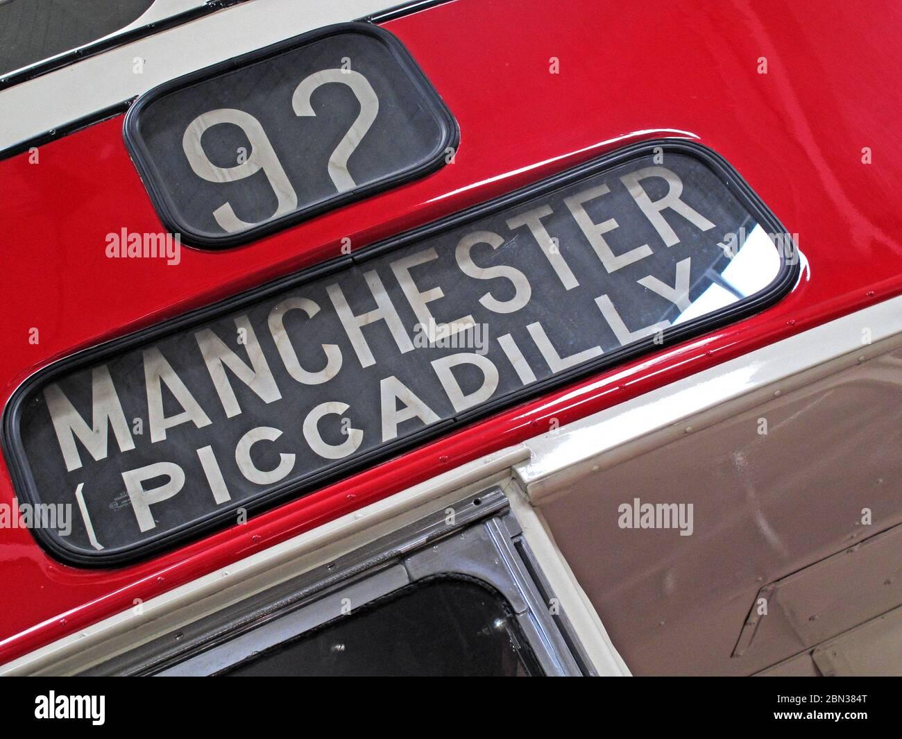 GoTonySmith,Hotpixuk,@Hotpixuk,1950,North West England,historic,UK,city,Manchester,Lancashire,buses,bus,omnibus,England,history,transport,Lancs,1950s,92,route,bury,92 bury bus,red bus,red,bury red,number 92,92 bus,Greater Manchester,Piccadilly Gardens