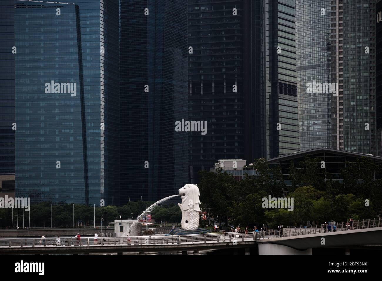 singapore-business-city-has-become-quiet