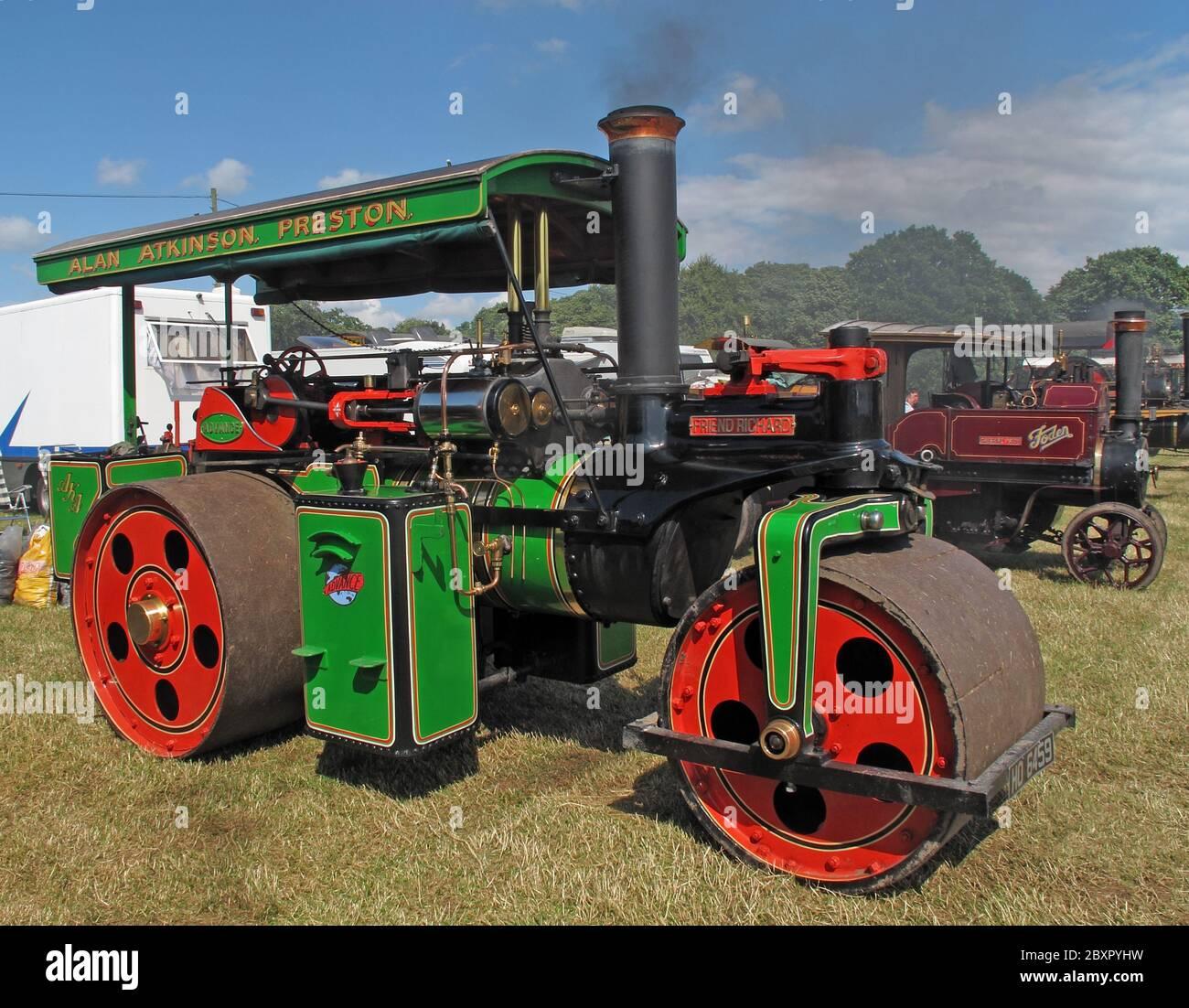 @HotpixUK,HotpixUK,GoTonySmith,logo,Victorian,brass,vehicle,engine,steam,field,fayre,two,several,traction,traction engine,summer,Friend Richard,Alan Atkinson,Preston,steam roller engine,Friend,steam power,steam powered,roller,Cheshire,England,UK