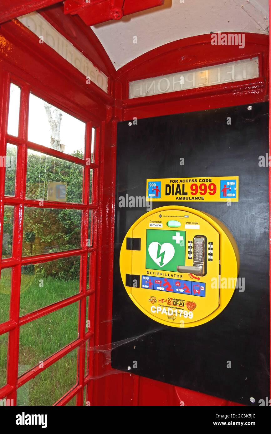GoTonySmith,HotpixUK,@HotpixUK,in,Cheshire,England,UK,for,Telephone boxes,fitted in,fitted to,AED,red telephone kiosk box,red telephone,kiosk,box,icon,iconic,Old K6 Red Telephone Box,Old K6,K6,cardiac,emergency,health,first aid,firstaid,conversion,converted,converted into,GB,Great Britain,Great British,life saving,red frame white light,village,Traditional red telephone box with a defibrillator