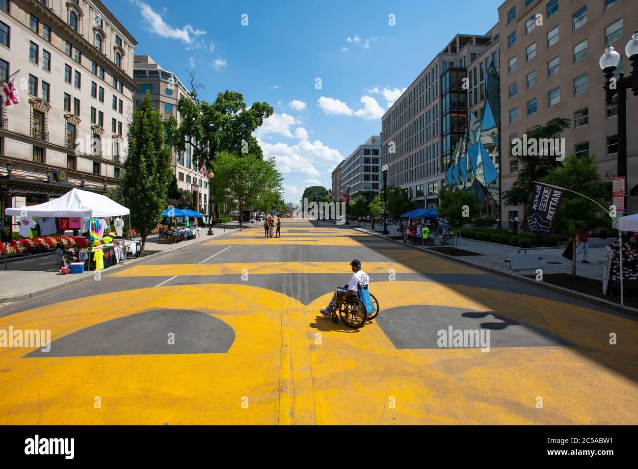 usa-washington-dc-black-lives-matter-plaza-on-16th-street-after-the-george-floyd-protests-for-racial-injustice-man-in-a-wheelchair-2C5ABW1.jpg
