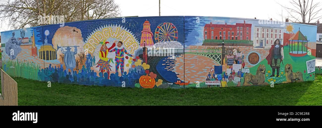 GoTonySmith,HotpixUK,@HotpixUK,England,UK,British,Great Britain,Somerset,South West England,South West,art,artist,wide,town,Blake,carnival