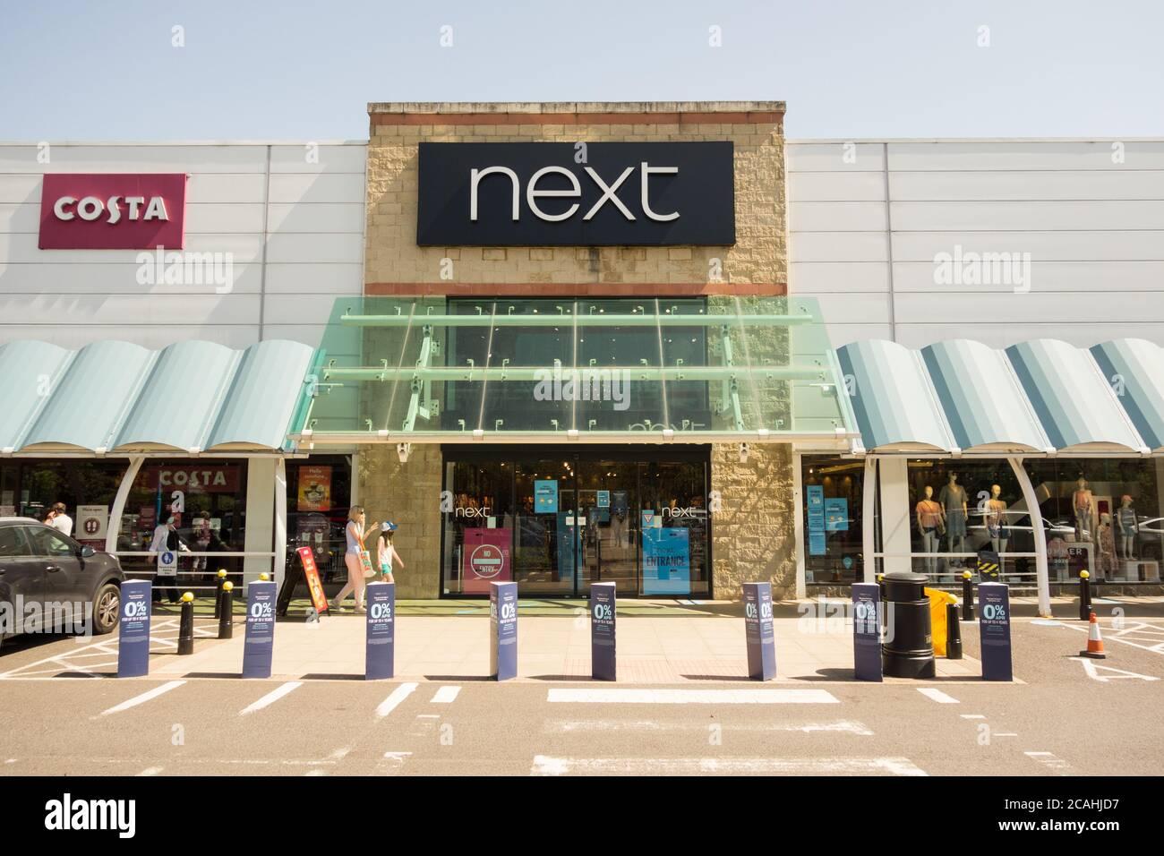 Next store at Kew Retail Park, Richmond, Surrey, London, TW9, UK. Stock Photo