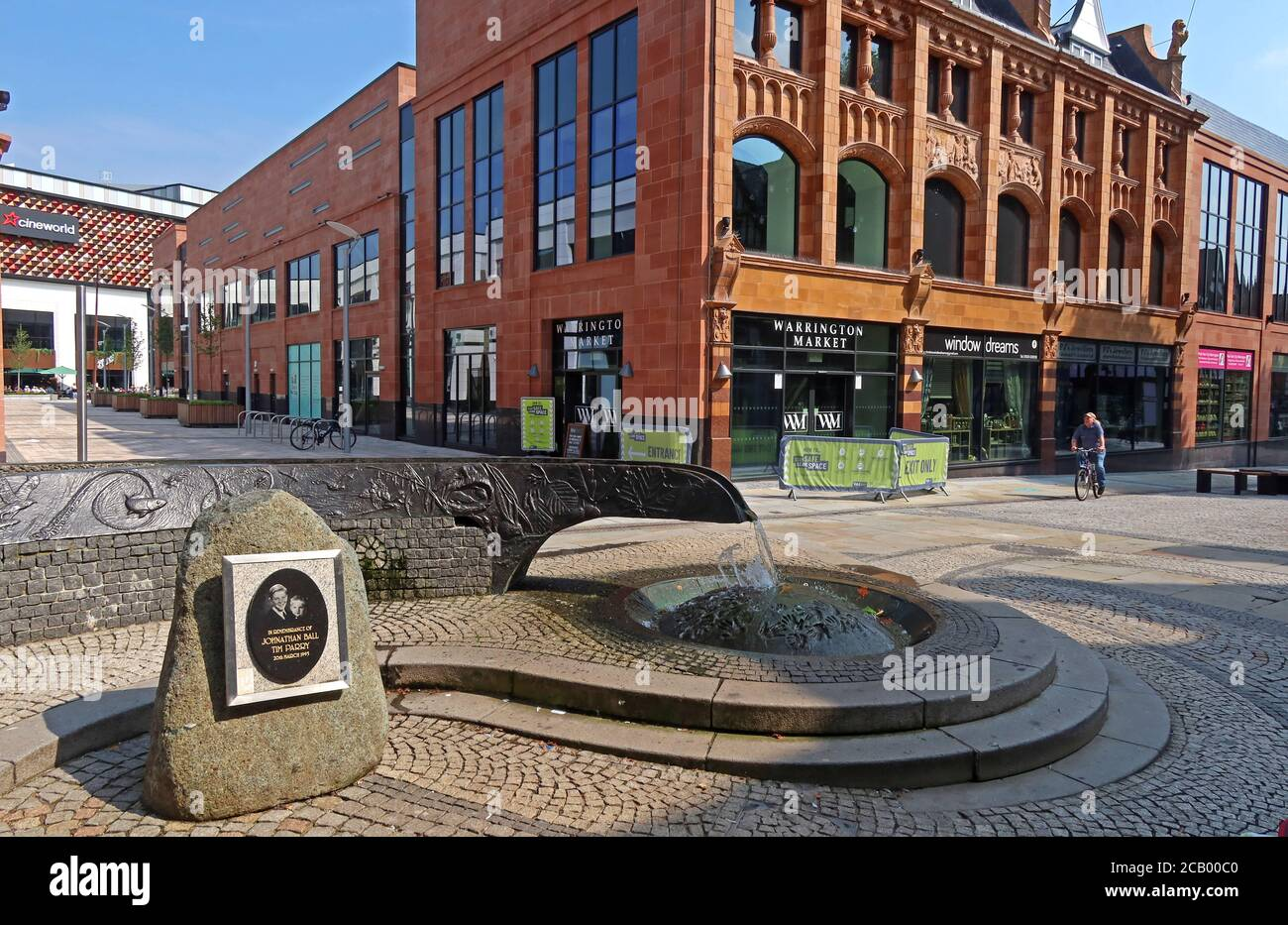 HotpixUK,@HotpixUK,GoTonySmith,Warrington,Cheshire,England,UK,retail,new retail development,VINCI Construction,BroadbentStudio,Broadbent,Studio,art,artwork,IRA,bomb,bombing,town,1996,1993,peace,terror,terrorism,Irish,Northern Ireland,Good Friday,Peace Agreement,tear shaped,water feature,bronze channel,hand prints,handprints,Tim,Jonathan,pedestrianised,Colin Parry,Wendy Parry,WA1