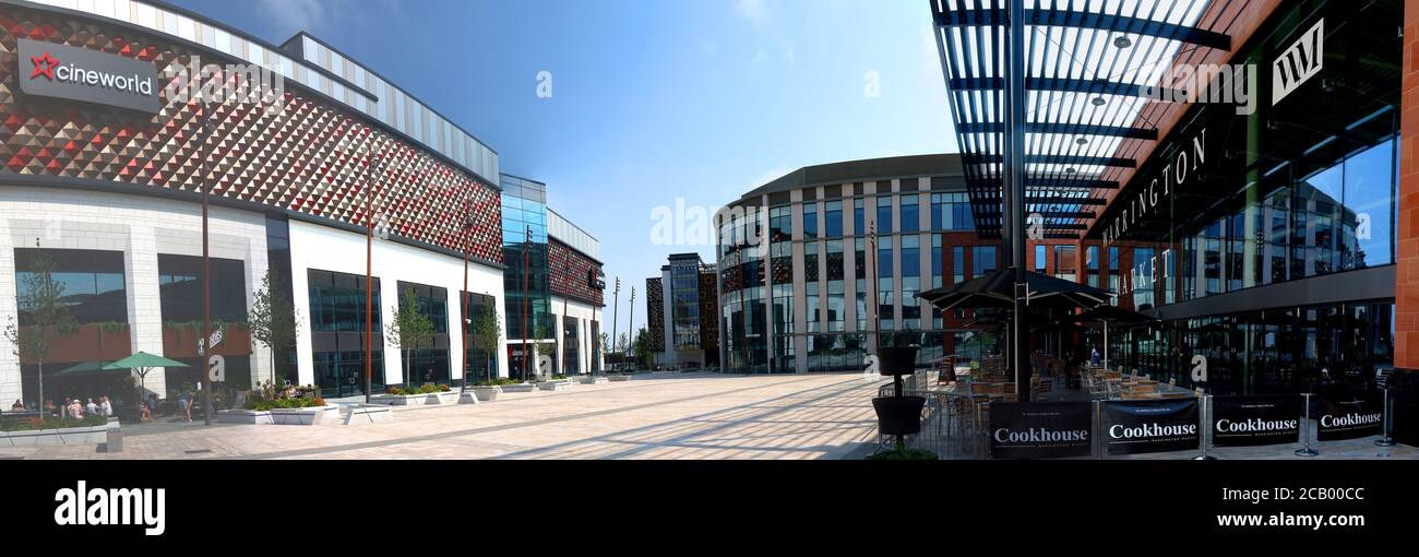 HotpixUK,@HotpixUK,GoTonySmith,Warrington,Cheshire,England,UK,panorama,retail,Warrington Market,building,square,place,Cineworld Warrington,Cineworld,pedestrianised,new retail development,VINCI Construction