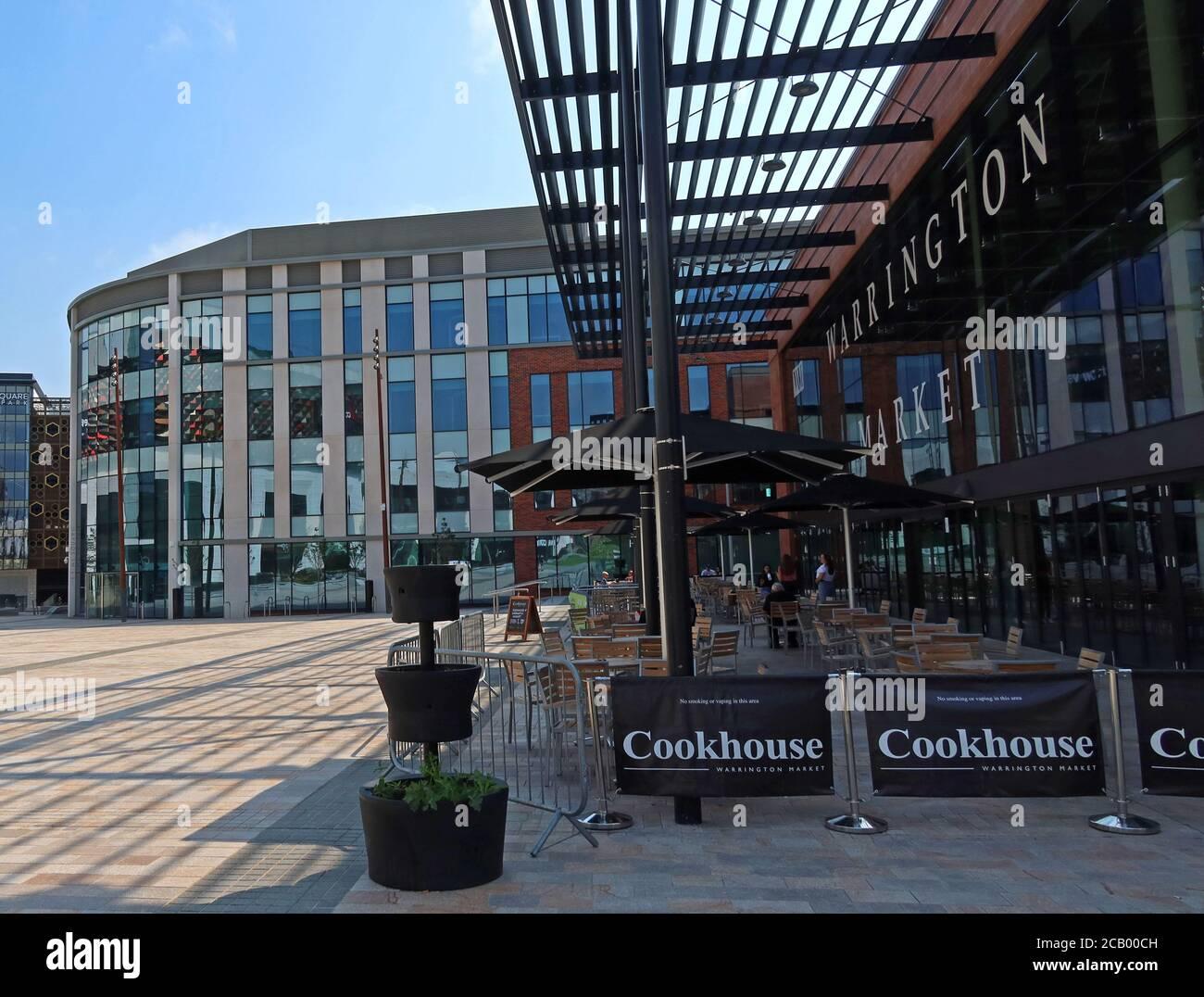 HotpixUK,@HotpixUK,GoTonySmith,Warrington,Cheshire,England,UK,retail,new retail development,VINCI Construction,pedestrianised,place,Warrington Market,building,square,outdoor,outdoors,shaded,area