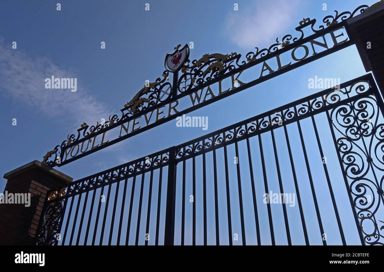 GoTonySmith,HotpixUK,@HotpixUK,England,UK,Britain,Great Britain,Liverpool,city centre,Merseyside,L4,Ground,Stadia,Stadium,reds,the reds,football,Premier League,gate,gates,famous gates,Never Walk alone,Youll Never walk alone