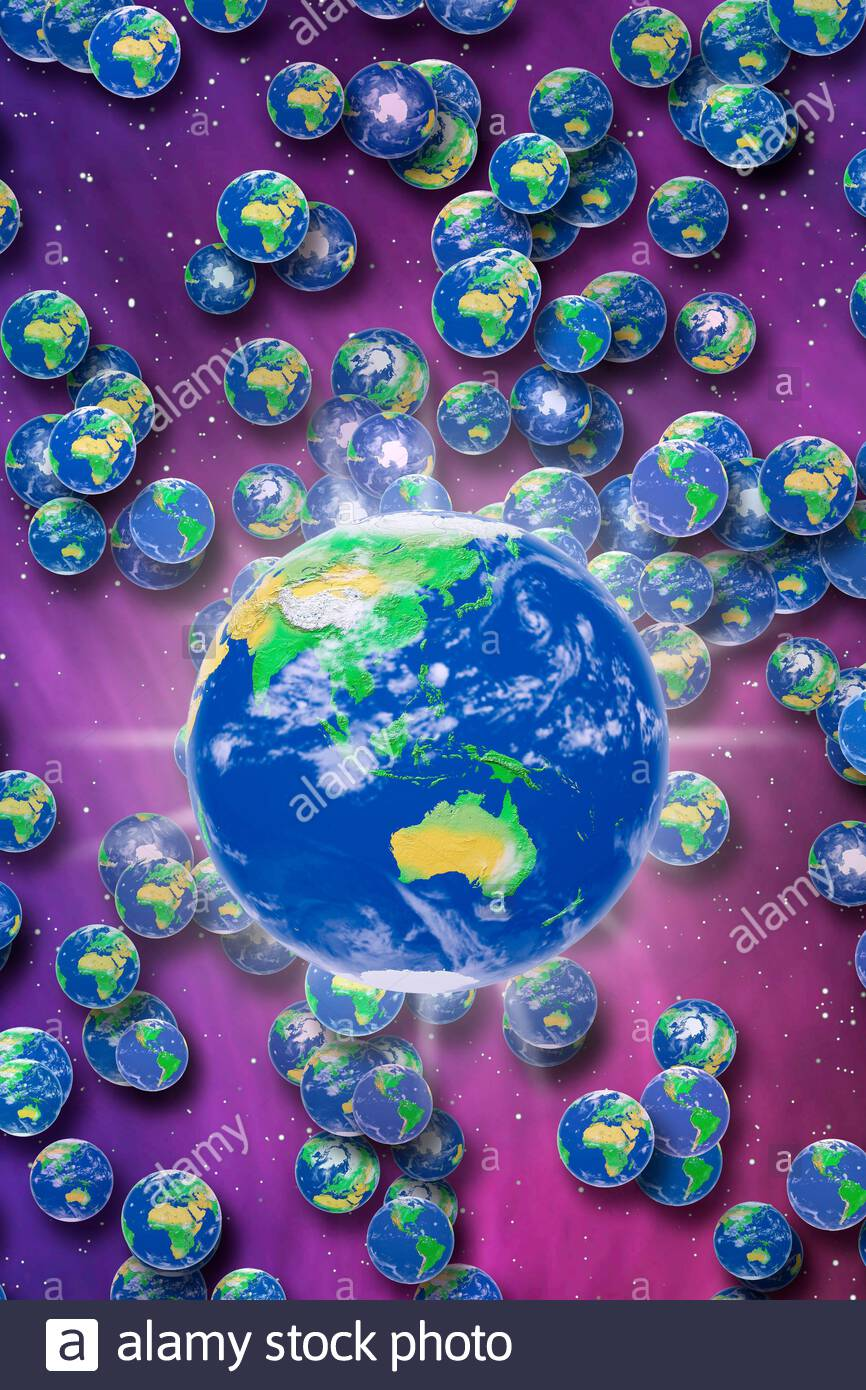 many-worlds-globes-earths-parallel-world