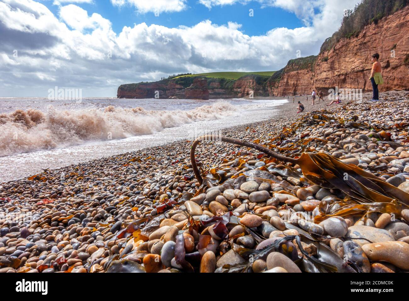 waves-roll-onto-the-beach-at-ladram-bay-near-exmouth-in-devon-england-people-are-on-the-beach-on-holiday-2CDMC0K.jpg