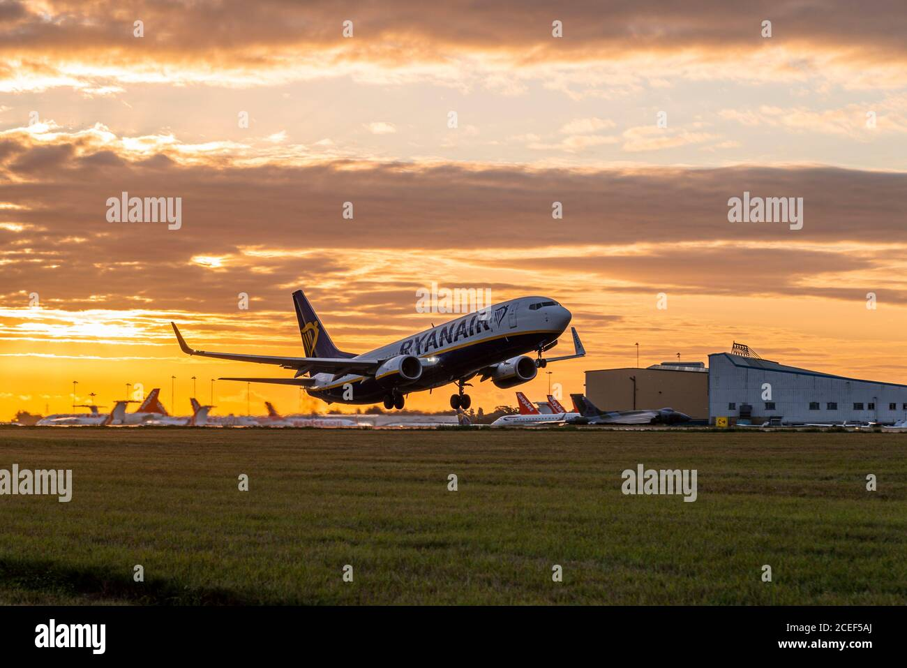ryanair-boeing-737-taking-off-from-london-southend-airport-at-sunrise-with-red-dawn-sky-early-morning-flight-travellers-heading-europe-destinations-2CEF5AJ.jpg