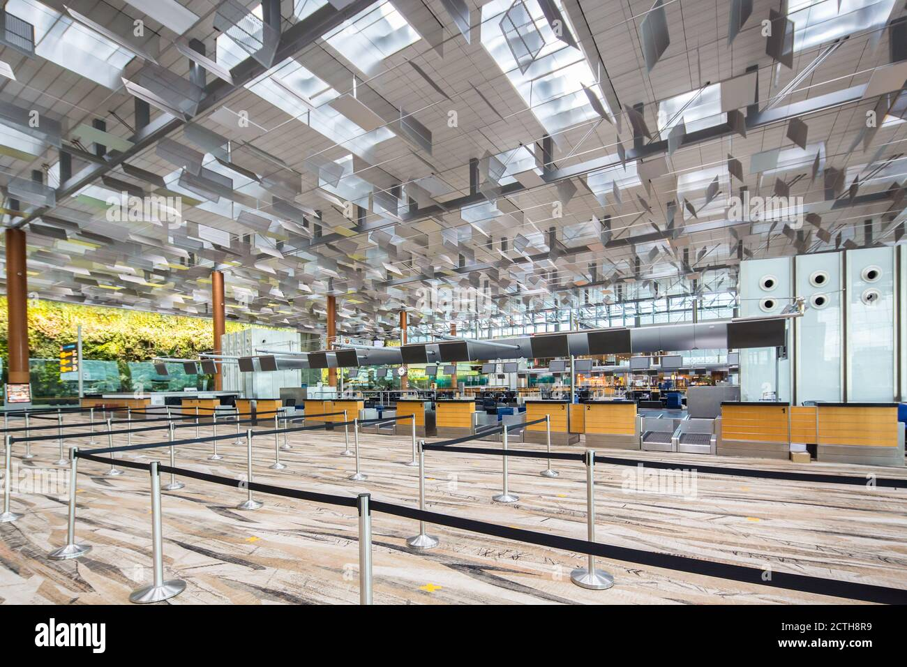 singapore-changi-airport-is-deserted-as-