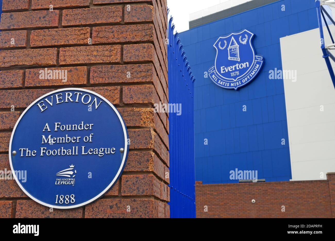 Hotpixuk,@Hotpixuk,GoTonySmith,England,UK,GB,Great Britain,Goodison,Liverpool,Merseyside,Premier League,club,stadia,1888,L4,blue,blues,Everton,Founder Member,football league,blue plaque,sign,Nil satis nisi optimum