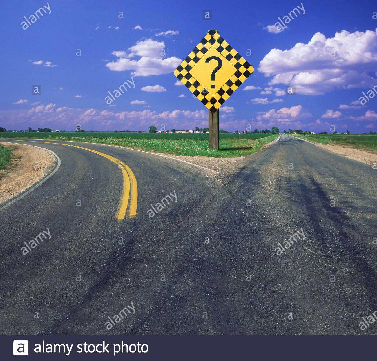 concept-of-a-fork-in-the-road-a-deciding