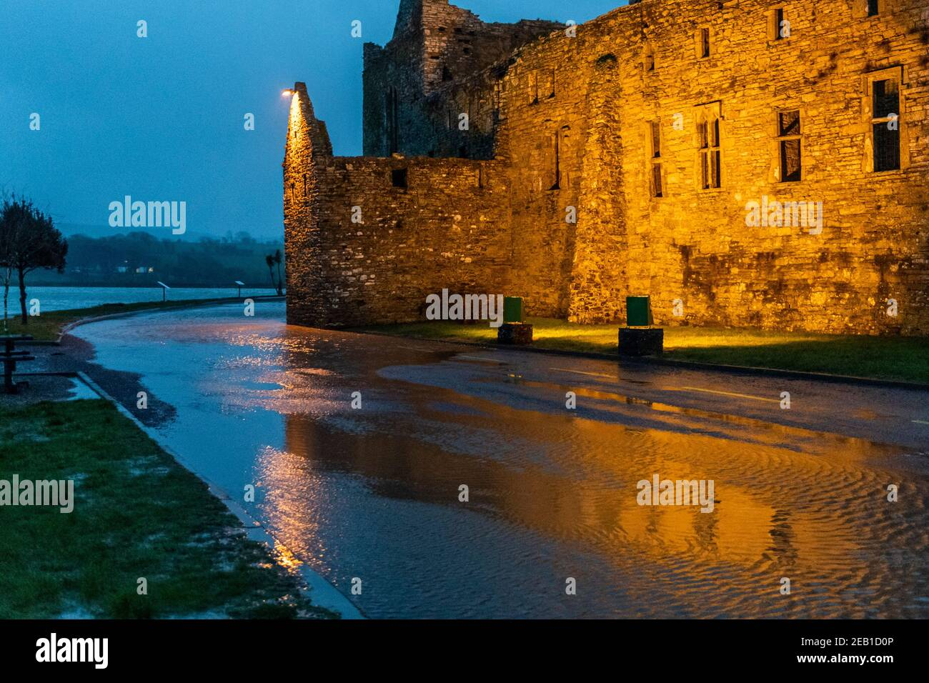 timoleague-west-cork-ireland-11th-feb-2021-after-a-day-of-torrential-rain-and-winter-showers-the-road-under-timoleague-abbey-flooded-at-high-tide-this-evening-credit-ag-newsalamy-live-news-2EB1D0P.jpg
