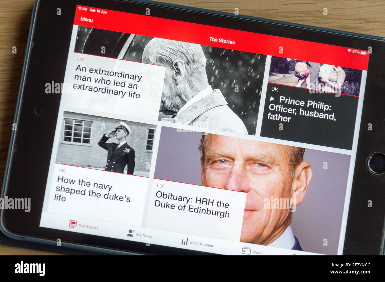 prince-philip-duke-of-edinburgh-coverage-in-bbc-news-during-his-demise-in-2021-2F7YNCC.jpg