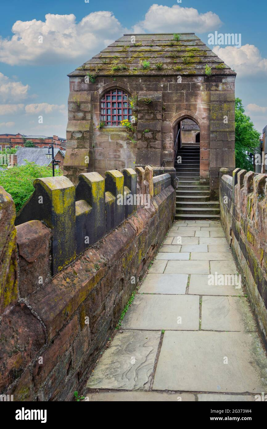 the-roman-wall-in-chester-cheshire-2G373